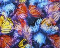 Sinised-roosad liblikad, Single Jersey