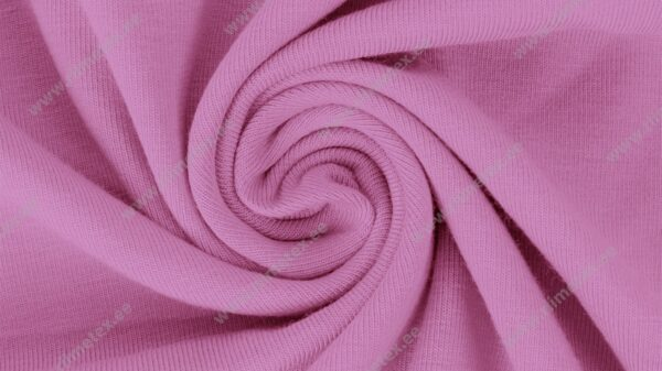Lillakas-roosa (Orchid) Single Jersey
