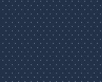 Väikeste täppidega tumesinine/valge täpp Single Jersey
