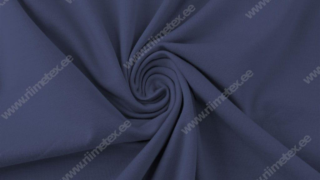 Tumedam tuhm-sinine (Blue Indigo) Single Jersey