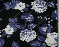 Sinised roosiõied mustal, Single Jersey