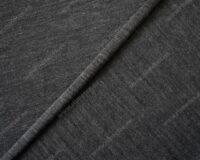 Õhuke merino Single Jersey, tumehall meleeritud, 125g/m2