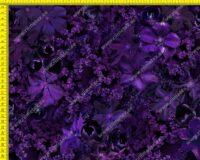 Õhuke dressikangas (French Terry), lillad elulõngad