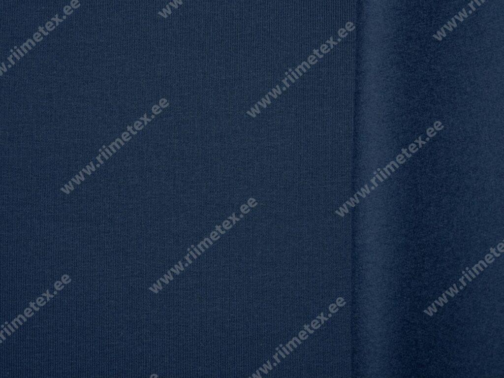 Tumesinine (Navy) seest uhutud dressikangas 0,35m/tk