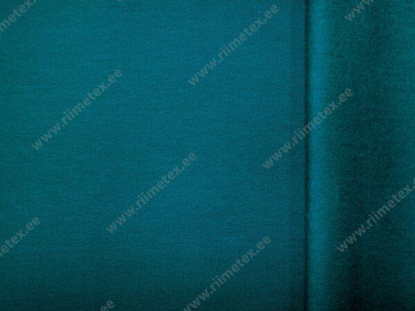 Seest uhutud dressikangas sinakas-rohekas (Petrol)