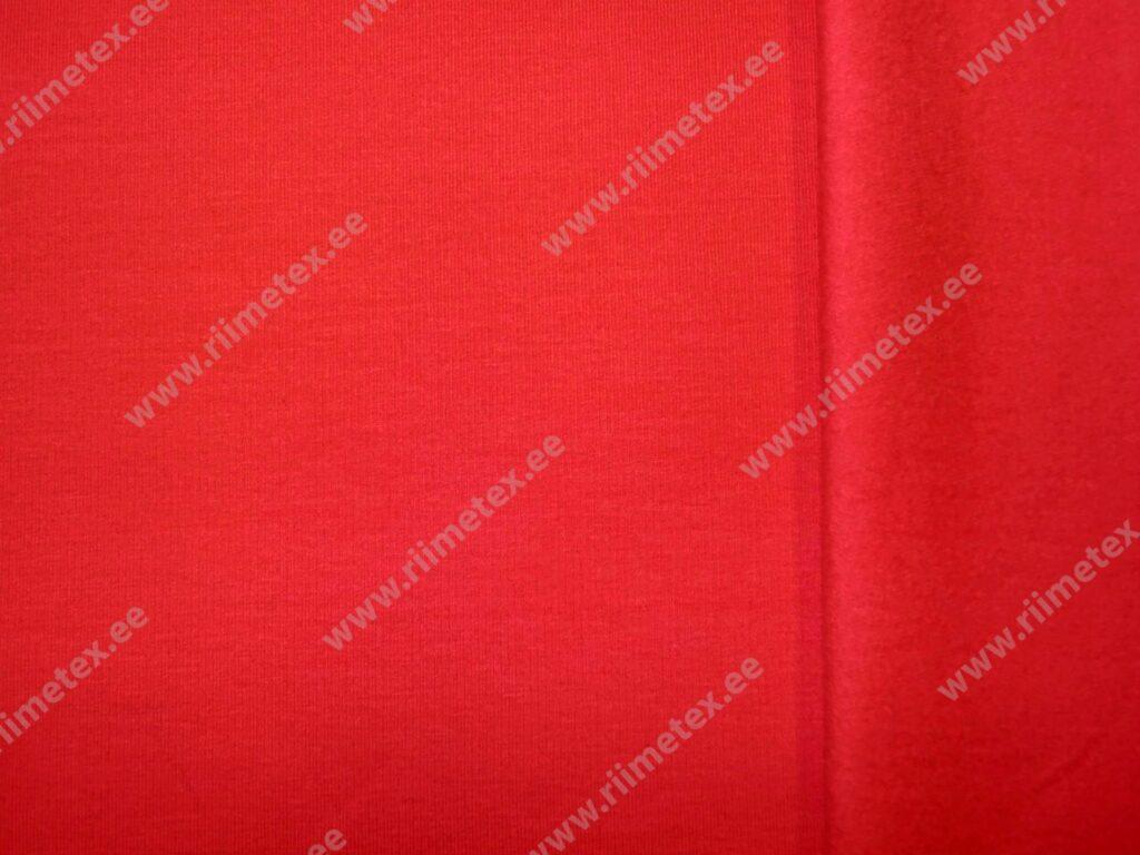 Punane (Red) seest uhutud dressikangas