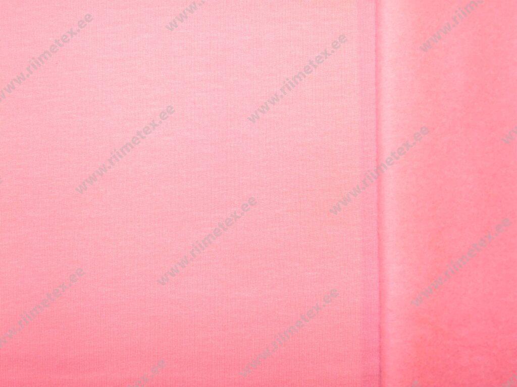 Heleroosa (Light Rose) seest uhutud dressikangas