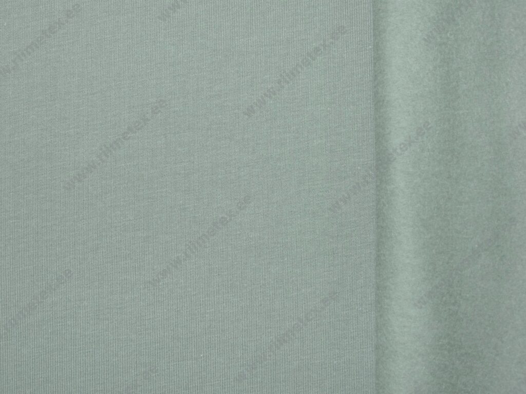 Tuhm münt (Misty Mint) seest uhutud dressikangas 0,85m/tk