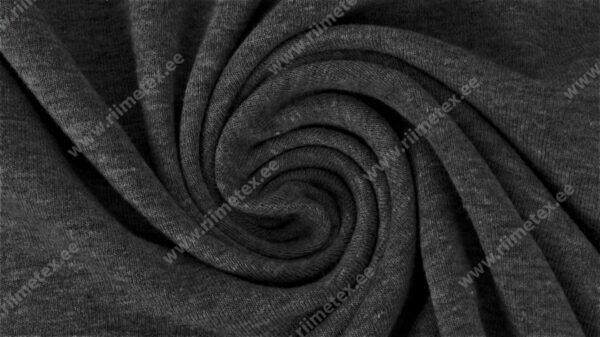 Tumehall meleeritud (Graphite Melange) Single Jersey