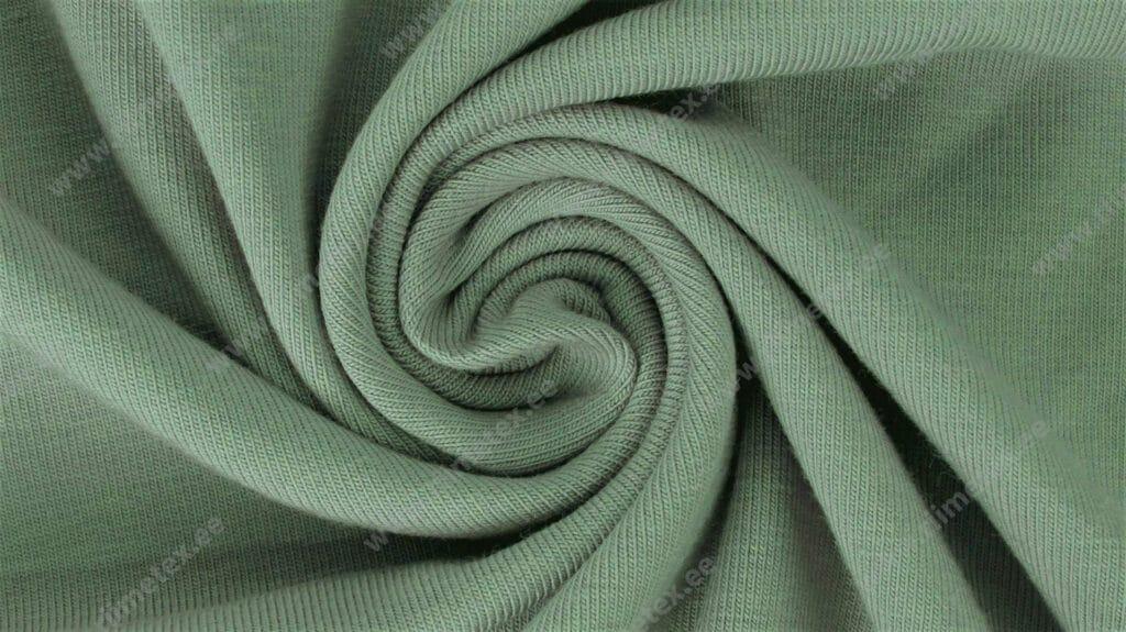 Vanaroheline (Granite Green) Single Jersey, ekstra lai!