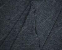 Meriinovilla-siidisegune trikotaaž, sinakas-hall mel. (1x1 koes)