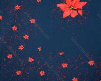 Jõulutäht (väike), paneel, õhem dressikangas /French Terry/