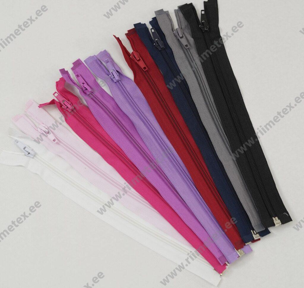 Alt avatav spiraal-lukk, lillakas-roosa 25 - 70cm