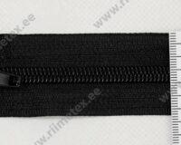 Alt avatav spiraal-lukk, must 25 - 95cm