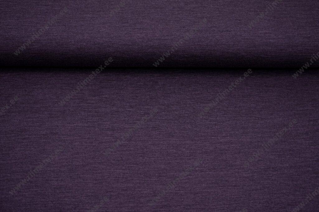 Meriinovillane trikotaaž, ploomililla meleeritud (Single Jersey)