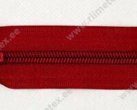 Alt avatav spiraal-lukk, punane 25 - 80cm