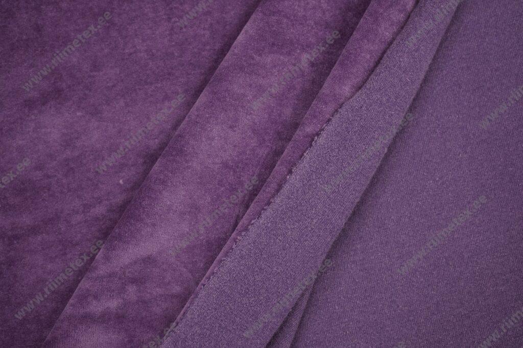 Veluur-trikotaaž, violett