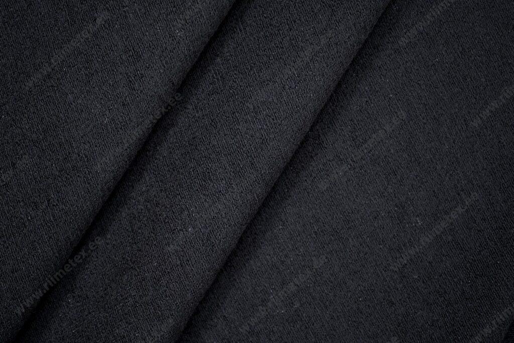 Meriinovillaga frotee, must 220g/m2