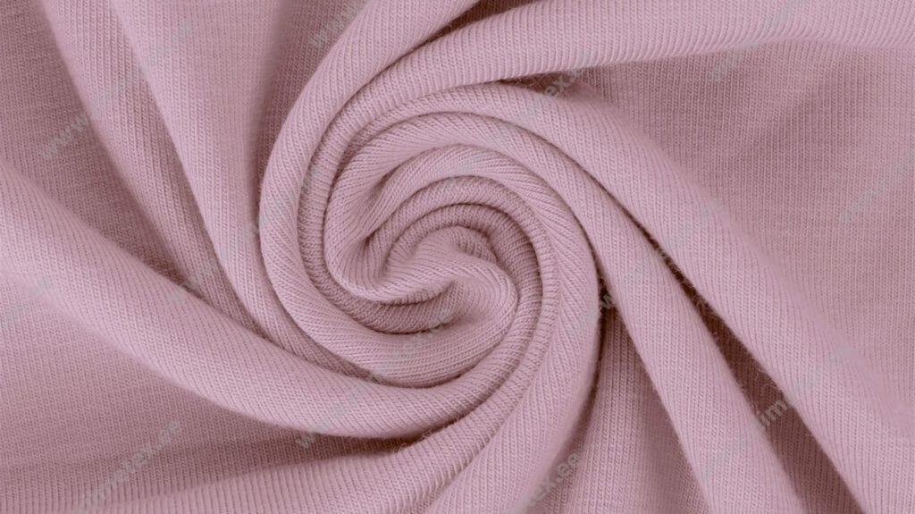 Trikotaažkangas /Single Jersey, hele vanaroosa (Dawn Pink)