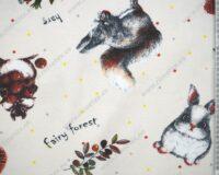 Trikotaažkangas siilid-oravad-jänesed, Single Jersey