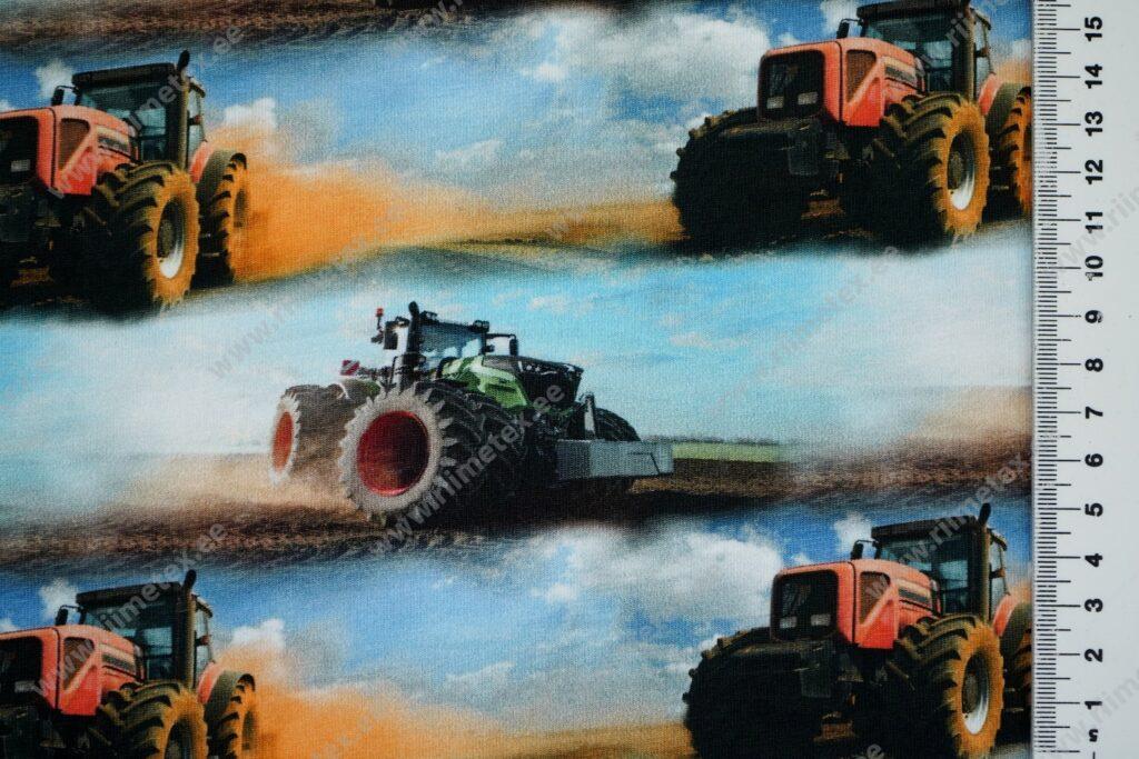 Traktorid põllul, Single Jersey