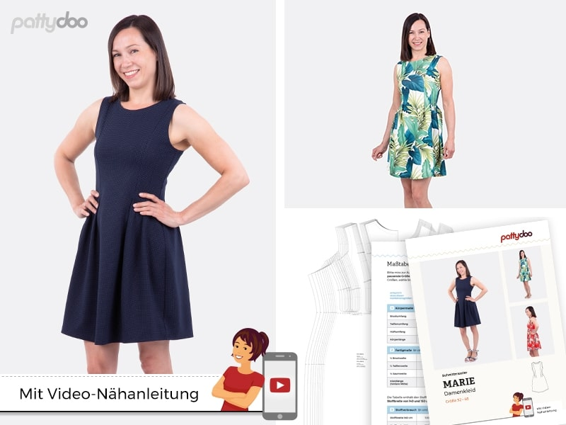 """Pattydoo kleidilõige """"Marie"""", suurused 32 - 48"""