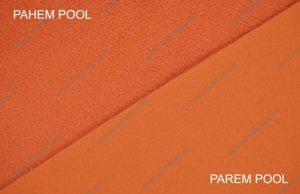 Softshell kangas oranž, pahem pool