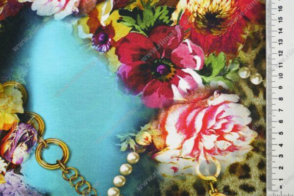 Single Jersey ketid ja lilled