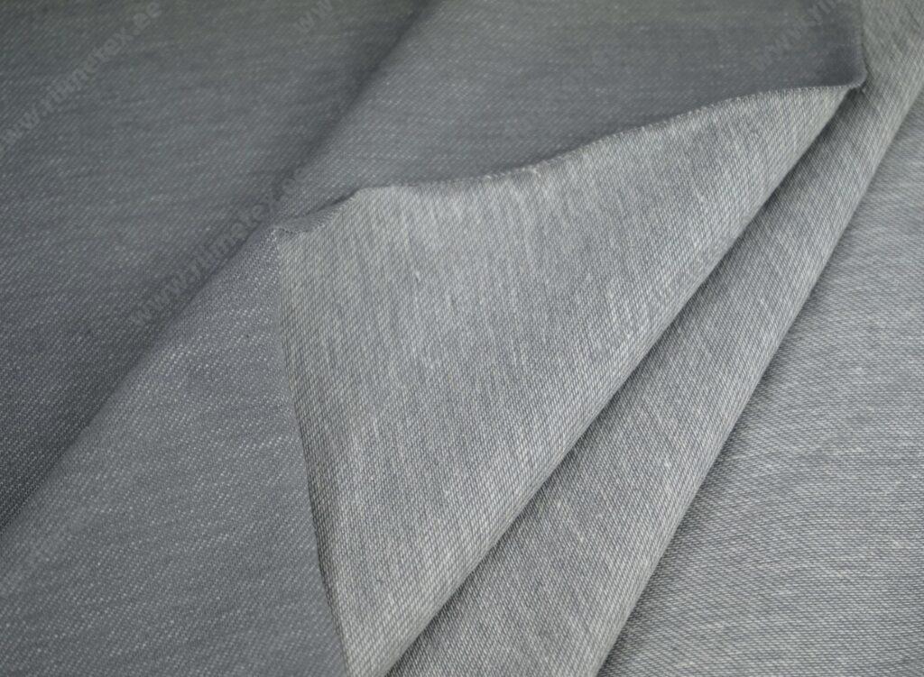 Teksatrikotaaž hall (diagonaaltrikotaaž/Jeans Jersey)