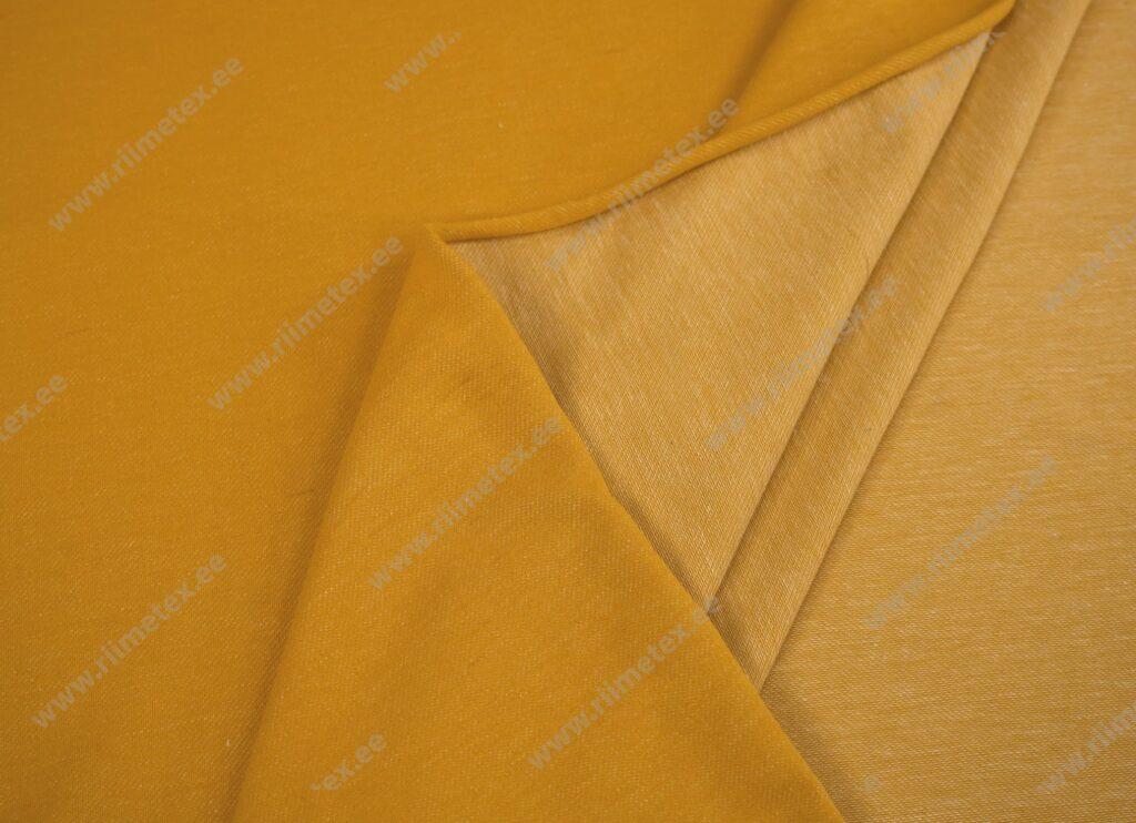 Teksatrikotaaž kollane (diagonaaltrikotaaž/Jeans Jersey)