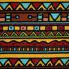 Dressikangas tribal-mustriga