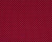 Trikotaažkangas väikeste täppidega bordoopunane/ valge täpp Single Jersey