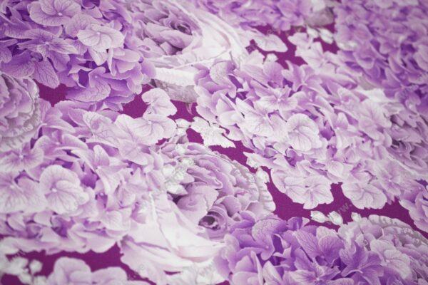 Lilla hortensia trikotaaž