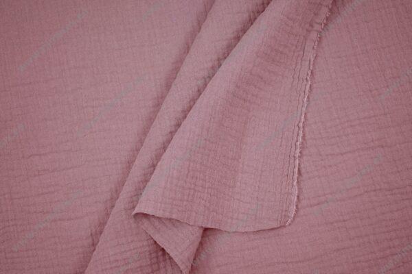 Musliinkangas roosa/vanaroosa