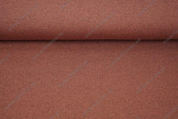 Sädelusega dressikangas terrakota