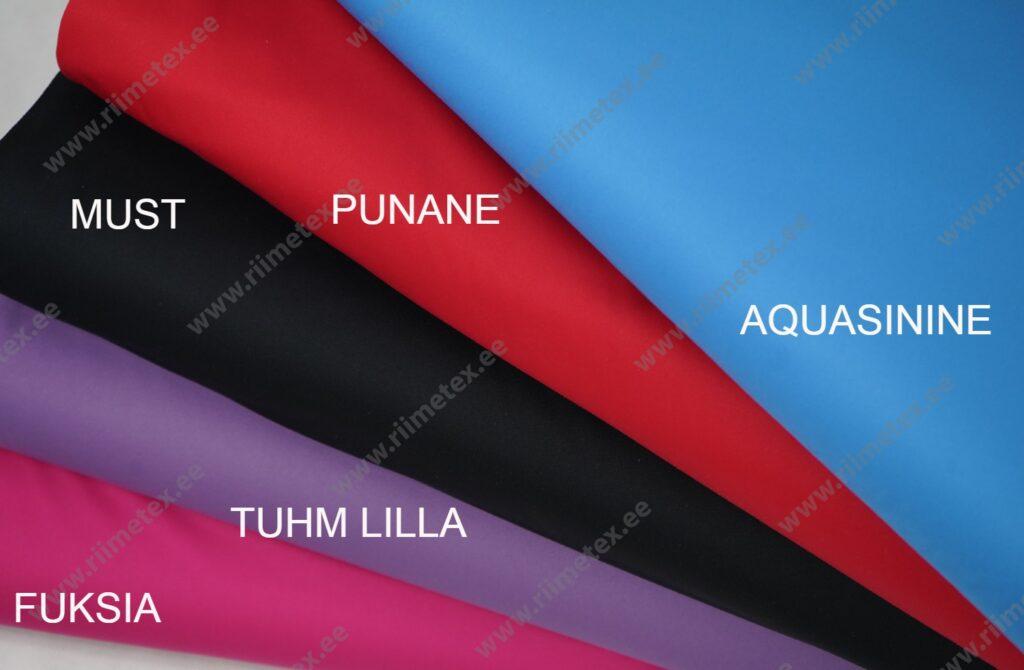 Soft-jersey AQUA-SININE, veekindel kahepoolne kangas (õhuke)