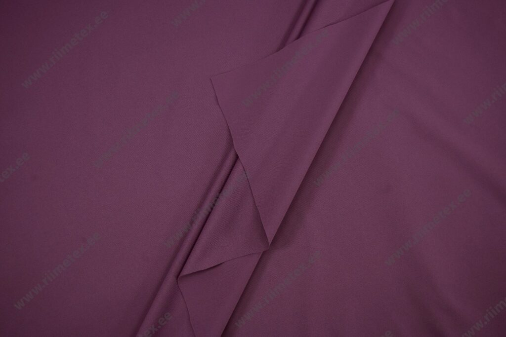 Soft-jersey tuhm lilla, veekindel kahepoolne kangas (õhuke)