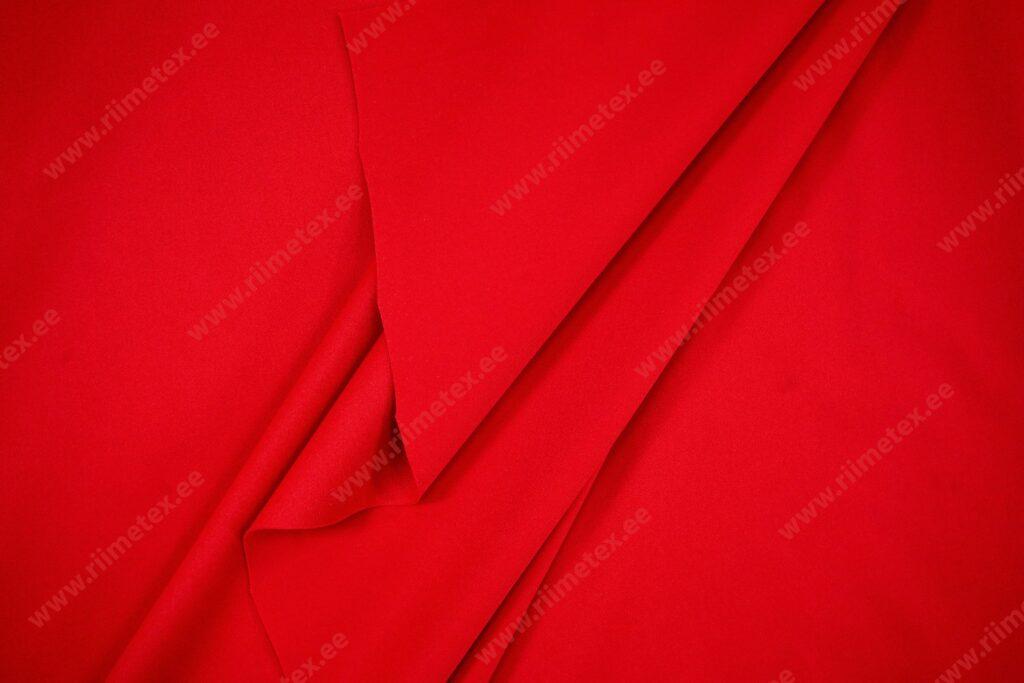 Soft-jersey punane, veekindel kahepoolne kangas (õhuke)