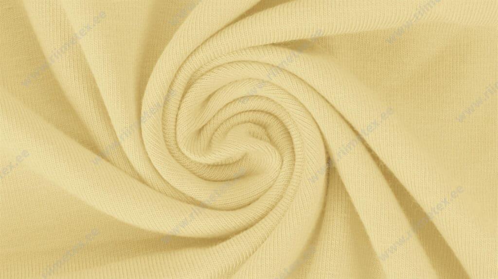 """Dressikangas pastelne kollane (Pastel Yellow) / French Terry, """"aasaline"""""""