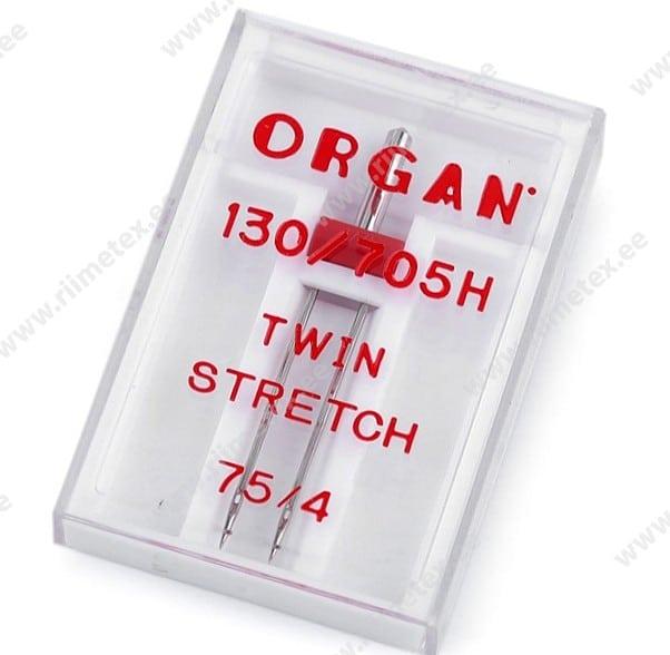Kaksiknõel õmblusmasinale 4.0mm/75 Organ