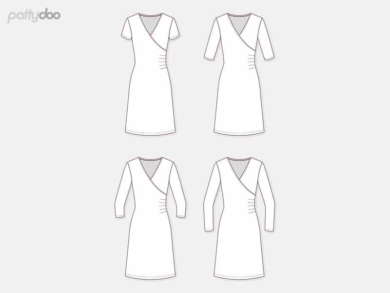 """Pattydoo kleidilõige """"Violet"""", suurused 32 - 54"""