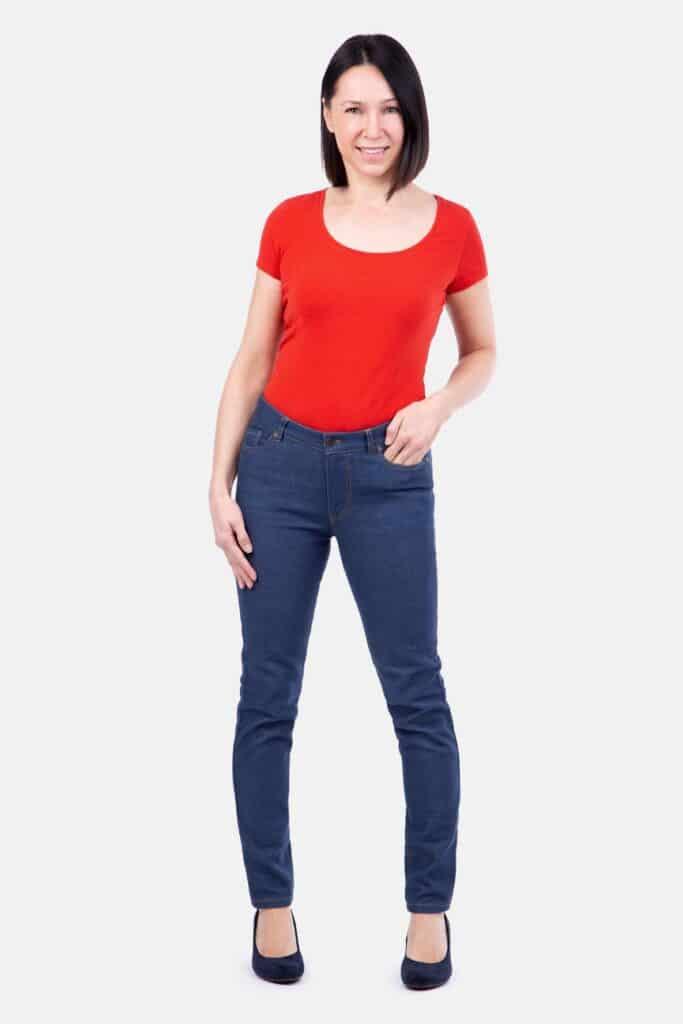 Pattydoo naiste tavalise (Regular) värvliga teksapükstelõige, suurused 32 - 54