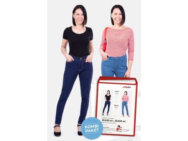 Pattydoo naiste kõrge värvliga teksapükstelõige