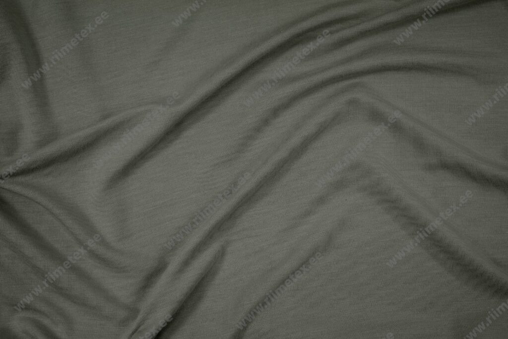 Bambusviskoos tuhm roheline, Single Jersey
