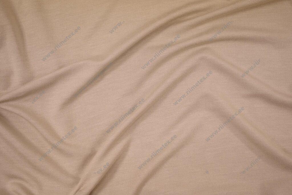 Bambusviskoos liivabeež, Single Jersey