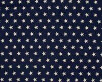Trikotaažkangas valged tähekesed navy-sinisel Single Jersey
