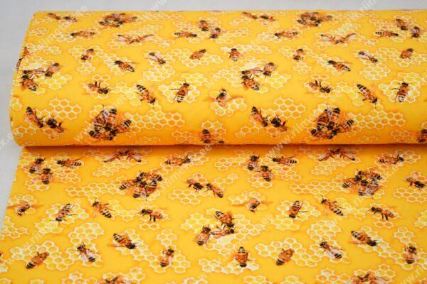 Trikotaažkangas mesilased /Single Jersey/