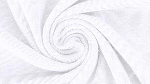 Trikotaažkangas /Single Jersey kriitvalge (Optical White)