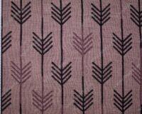 Meriinosegu žakaarkoeline trikotaaž nooled antiiklilla/vanaroosa